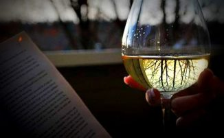 books-wine
