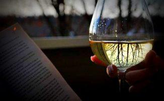 books-wine