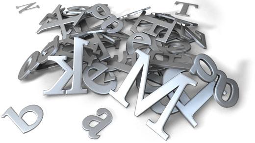 Fonts-PileOfLetters